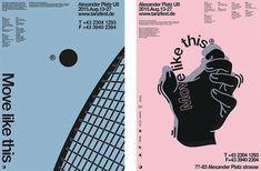 Fresh, vibrant poster work from South Korean designer Soojin Lee