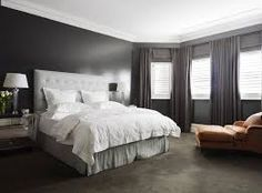 Bedrooms With Gray Walls my bedroom, in dulux warm pewter and white mist. greys and neutral