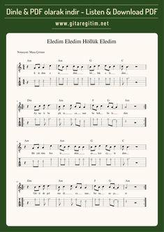Ukulele, Sheet Music, Guitar, Music Sheets