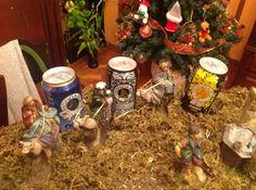 Fotografía participante en el concurso 'Ya es Navidad en Mondariz' realizado en el perfil de Facebook de Aguas de Mondariz.  Autoría: Santiago Cabado Estraviz