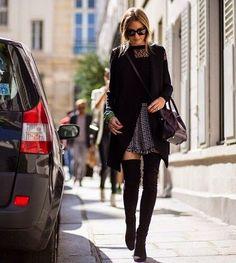 The Olivia Palermo Lookbook : Olivia Palermo at Paris Fashion Week : Look 6