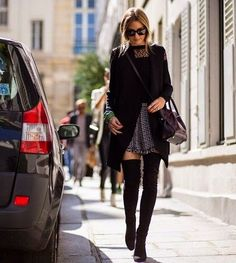 The Olivia Palermo Lookbook : Olivia Palermo at Paris Fashion Week : Look 6