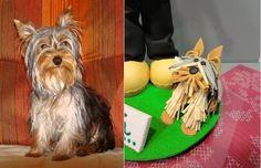 perro de goma eva