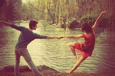 Dancing romance.♥ Wonderful! www.thewonderfulworldofdance.com #dance