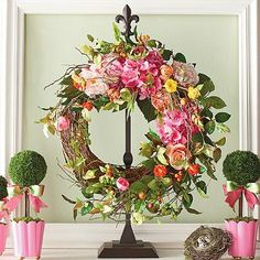 Adjustable Wreath Stand