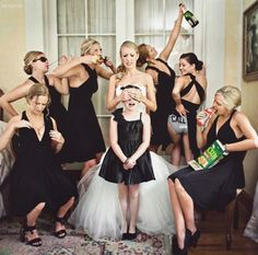 This will most def be my wedding with my girls.. But with a little twerk in it lol.