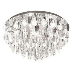Ceiling Hanging, Light, Hanging Crystals, Cool Lighting, Lighting, Ceiling, Eglo, Chandelier, Ceiling Lights