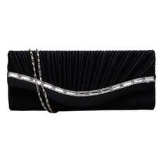 Fashion Rhinestone Handbag   Furrple