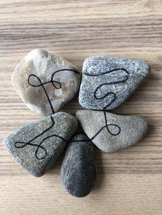 Easy Diy, Let It Be, Make It Yourself, Stone, Blog, Rock, Batu, 1st Birthdays