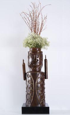 #CarlosLuna #art #artist #flowerpot #ceramic