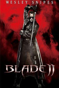Blade II movie poster Fantastic Movie posters #SciFi movie posters #Horror movie posters #Action movie posters #Drama movie posters #Fantasy movie posters #Animation movie Posters