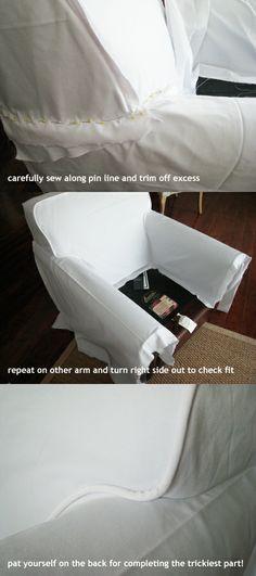 DIY slipcovers..