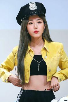 SinB Gfriend Album, Sinb Gfriend, Kpop Girl Groups, Korean Girl Groups, Kpop Girls, Gfriend Profile, My Girl, Cool Girl, Nautical Outfits