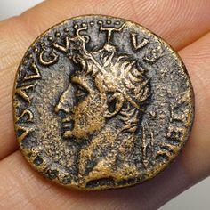 Roman Empire – Divus Augustus (34 - 37) As, Rome, eagle