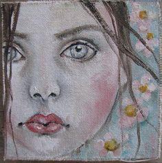 new portrait painting ...kd milstein studio