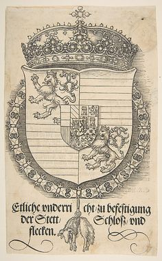 The Arms of Ferdinand I, King of Hungary and Bohemia
