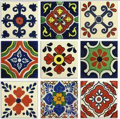 Classic Talavera Mexican Tile Collection – Mexican Tile Designs