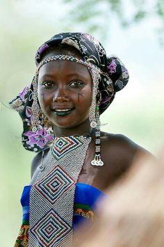 Young Fulani woman