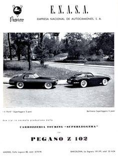 1954 Pegaso Z 102 Models