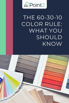 """When it comes to color, getting it right can be tricky. Have you ever thought, """"But, I loved this color when I picked it out,"""" or """"We just painted; why does this room still not look right?"""" If so, it might be because you didn't follow the color rules. While there is a LOT to know about color, there is one rule that even designers follow to help get the balance right. It's called the 60-30-10 rule, and here's what you need to know about how to get fabulous color in your home. Home Design Decor, House Design, Different House Styles, Open Concept Home, Color Balance, One Color, Colour, Better Together, Blue Accents"""