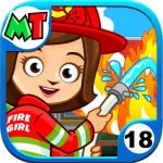 My Town: Fire Station Rescue shows your child the world of first responders! 4.5 Stars! #MyTown #FireTrucks  #CreativeWorlds #SmartAppsForKidsReview #InteractivePlay