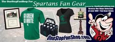 Shop Michigan State Spartans Fan Gear Today!