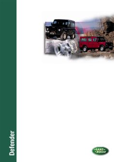 Gregorys landrover discovery series2 tdi5 diesel workshop repair land rover defender 1992 2002 workshop manual supplement pdf fandeluxe Images