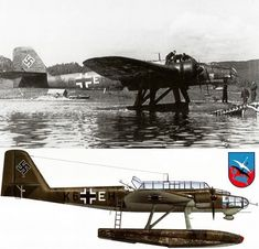 Heinkel 115C , 1./K 406