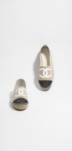 Espadrilles en tweed - CHANEL