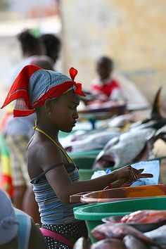 Fish market, Sal Rei  - Cape Verde (Cap Vert) by f/4, via Flickr
