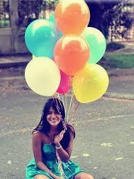 Resultado de imagem para fotos tumblr com baloes