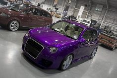 My car at Ultimate Dubs - VW Lupo