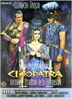 Cleopatra Film Stills, Official Movie Posters, Pictures, Wallpapers, Behind the scenes & Classic Movie Posters, Movie Poster Art, Classic Movies, Epic Film, Epic Movie, Love Movie, Cinema Movies, Film Movie, Old Movies