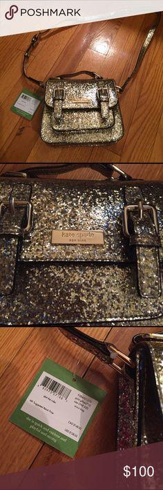 Kate spade Kate spade scout bag. Gold glitter sparkle kate spade Bags Crossbody Bags