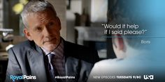 Repin if you're happy to see Boris again! #RoyalPains #tv #quote