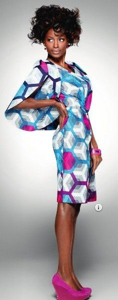 Vlisco: Delicate Shades from nothing but the wax: