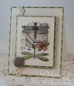 LaBlanche Stampin' Up! Dragonfly Dreams – by Deb Saaranen Butterfly Cards, Flower Cards, Monarch Butterfly, Paper Cards, Diy Cards, Card Making Inspiration, Making Ideas, Scrapbook Cards, Scrapbooking