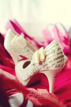 Zapatos de Novia pintados a mano. F