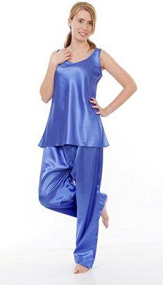 Satin Pj Set, Pink Satin Dress, Satin Dresses, Night Suit For Women, Silk Pjs, Satin Lingerie, Satin Pajamas, Lingerie Collection, Cami Tops