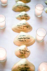 Great idea for a beach wedding.  Cape Cod Wedding   Style Me Pretty