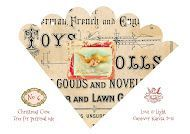 Wings of Whimsy: 12 Days of Christmas Cones - Victorian style - Shabby Chic - free printables