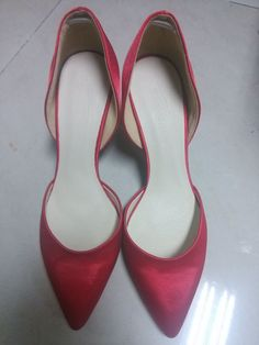 Women's Closed Toe Pumps Stiletto Heel Satin Wedding Shoes