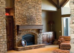 Beautiful Interior Stone Veneer Design Idea with Rustic Interior: Awesome Timbeledge Interior Stone Veneer Living Space Patterned Sofa As Beautiful Veengle Style ~ ovceart.com Wall Decors Inspiration