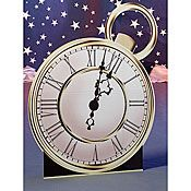 Large Enchanted Clock Face, Enchanted Clock Face Standee