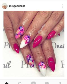 What Christmas manicure to choose for a festive mood - My Nails Get Nails, Fancy Nails, Hair And Nails, Gorgeous Nails, Pretty Nails, Bright Gel Nails, Nail Design Spring, Vacation Nails, Nail Manicure