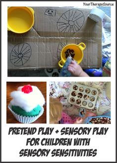 Your Therapy Source-Giving Meaning to Sensory Play. Pinned by SOS Inc. Resources. Follow all our boards at pinterest.com/sostherapy for therapy resources.