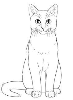 Cool Art Drawings, Animal Drawings, Easy Drawings, Cabras Animal, Cat Drawing Tutorial, Cat Rug, Lion King Drawings, Animal Outline, Sketchbook Challenge