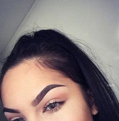 Brow perfection.