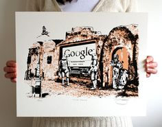 Star Wars 'Those Droids' Hand Pulled Limited by BarryDBulsara, $32.00