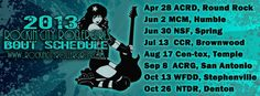 RCRG 2013 Bout Schedule